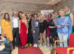 Fashionshow der Boutique MoLine in der Leiner Backstube